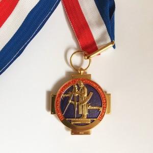Médaille du Meilleur ouvrier de France remise à Paule Persil en 2019