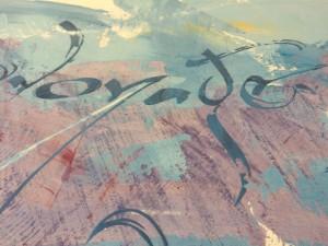 """©Paule Persil - """"Qi"""" - format 2,80 m x 1,25 m"""
