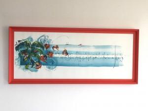 """© Paule Persil - """"Scintillements"""" - Format 1,50 m x 0,60 m"""